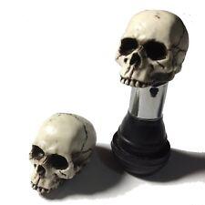 Skull Valve Stem Caps Hot Rat Street Rod Skeleton Harley Punk American Made 15VC