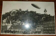 AK Karte Luftschiff Zeppelin Graf LZ 127 Graz Bromsilber (27214