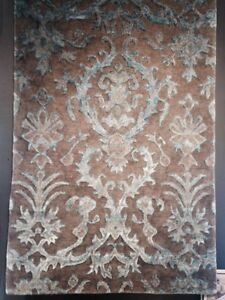 3' X 5' TransitionalTibetan Hand Knotted Area Rug Floral Nepalis Elegant  A+