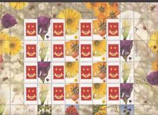 Israel 2001 Flowers Telabul Generic Full Sheet Bale GS01