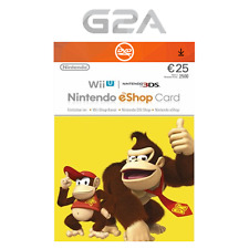 Nintendo eShop 25 Euro Card - 25€ Nintendo Switch / 3DS / WiiU Digital Key [EU]