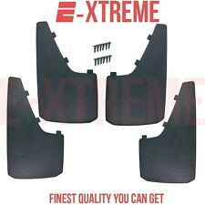 4PCS UNIVERSAL 15X9 MUD SPLASH GUARDS FLAPS FIT FOR TRUCKS CARS SUVS