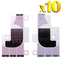 10x For Apple iPhone X Back Battery Adhesive Sticker Strip Glue Tape Replacement