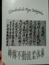 Bujinkan Budo Shinden Fudo Ryu Jutaijutsu Jujutsu Ninpo Ninjutsu Hatsumi Manaka