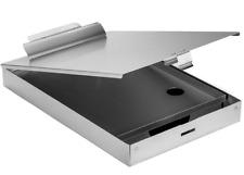 Aluminum Clipboard Double Storage Heavy Duty Nurse Coach Contractor Case Folder
