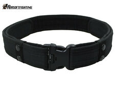 "2"" Airsoft Tactical Military Police Load Bearing Combat Duty Belt Black"
