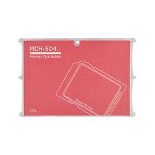 4 SD Holder Memory Card Protective Storage Case Write/Label Rose Holder