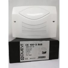 DUEVI CE100-3 BUS CENTRALE ANTIFURTO 48 BIT - 100 ZONE RADIO- 3 ZONE FILO - GSM
