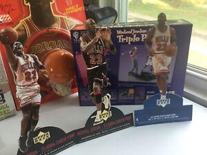 Michael Jordan Stand Ups Upper Deck 3rd Leading Scorer NBA 25000 Career Points