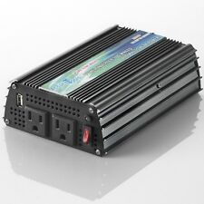 BRAND NEW PURE SINE WAVE POWER INVERTER 300/600 WATT 12V DC TO 120V AC! FREE S&H