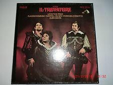 Verdi Il Trovatore RCA  LSC 6194 Red Seal  3 LP-Box