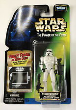 NEW Star Wars POTF Stormtrooper with Blaster Rifle & Infantry Cannon Kenner 1997