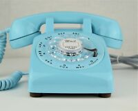 Vintage Antique Telephone - Beautiful Vibrant Aqua Blue 500 - Fully Working