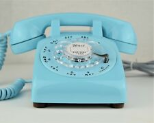 Vintage Antique Telephone - Aqua Blue 500 - Fully Working