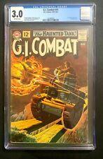 GI Combat (1962) 🔥 #91 CGC 3.0 1st Haunted Tank Cover! DC Comics!