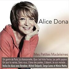 Mes Petites Madeleines - Alice Dona (2013, CD NEUF)