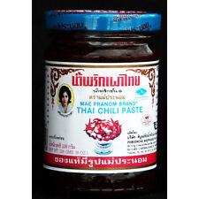 Maeparnom brand, Original Thai Chili Paste(Nam Prik Pao) for Cooking & Dip 228g.