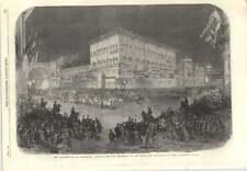 1866 San Pietroburgo Matrimonio illuminazioni e processione a Palazzo anitchkoff