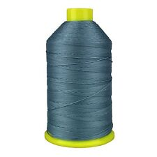 BONDED NYLON SEWING THREAD 12s 1,000m BLUE GREY LEATHER REPAIRS CRAFTS 12 TKT