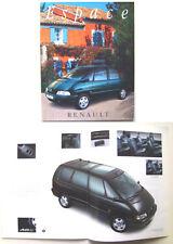 Renault Espace 2.2 V6 dT 1996-7 Original Dutch Brochure