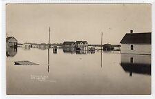 THE REGINA FLOOD Apr 13th 1916: Saskatchewan Canada postcard (C21639)