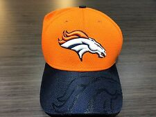 Cap Hat Denver Broncos New Era 2016 NFL Sideline 39thirty Flex Fit S/M Football