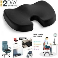 Seat Cushion Office Chair Orthopedic Memory Foam Pain Relief Sciatica Pillow