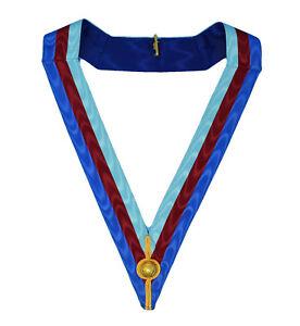 Royal Arch Chapter Provincial Collarette Freemasons Masonic Regalia Collar