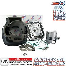 NEW GRUPPO TERMICO CILINDRO MOTORE DR 70cc PIAGGIO ZIP SP NRG MC2 NTT LIQUIDO