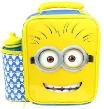 Méprisable me sbires deluxe sac à lunch/boîte et bouteille set | minions lunchbox