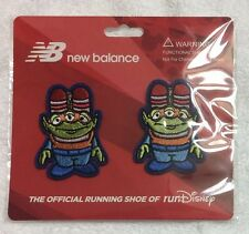 RunDisney New Balance Shoe Lace Clips Toy Story Mania Alien Set of 2