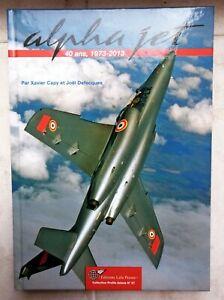 Ensemble docs Alphajet ( Livre neuf 288 pages, Revues) + Patchs, Autocollants..