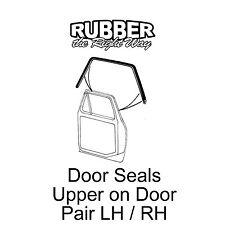 1973 1974 1975 1976 1977 1978 1979 Ford Truck Upper Door Seals - pair