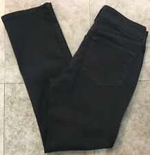 Not Your Daughters Jeans NYDJ Lift Tuck Samantha Slim jeans Size 8P Dark Gray