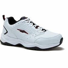 Avia US Shoe Size 10 W Mens Cantilever Runner Athletic Wide Width White Sneaker