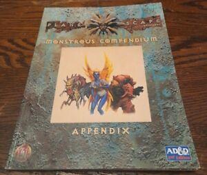 AD&D Planescape. Monstrous Compendium Appendix. TSR 2602.