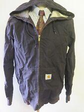 "Genuine Carhartt men's Chore Workwear Hooded Jacket M 38-40"" Euro 48-50 - Black"