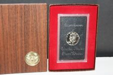 BEAUTIFUL 1971-S EISENHOWER PROOF SILVER DOLLAR $1 IN BOX