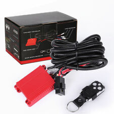 Wiring Harness Switch Relay Kit for Connect  LED Work Driving Light Bar 4WD