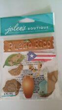 Jolee's PUERTO RICO Stickers 8 PIECES