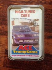 Top Trumps Ace Trump Game High Tuned Cars 7226/4 Red Back Sealed  Rare