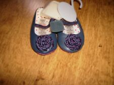 NEW MAMAS & PAPAS BABY GIRLS LEATHER PRAM SHOES AGED 0-3 MONTHS