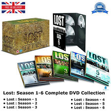 Lost Season 1 - 6 Complete Collection 1 2 3 4 5 6 Box Set NEW SEALED UK R2 DVD