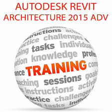 Autodesk REVIT Architecture 2015 Advanced-Video formazione tutorial DVD
