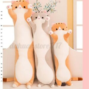 Cute Plush Cat Soft Stuffed Pillow Cushion Doll Toy Gift Kids Girlfriend Gift