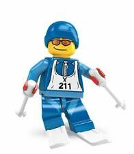 LEGO Collectible Minifigure (8684) Series  2 Skier / Skis / Snow   Vintage Rare
