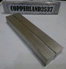 2 Pc 1 X 1 X 8 Long New 6061 Solid Aluminum Plate Flat Bar Tool Block