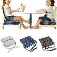Baby Kinder Sitzerhöhung Verstellbar Tragbar Kindersitze Stuhlkissen Boost Pad