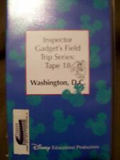 Inspector Gadget's Field Trip Series ~ Washington, D.C. (Disney Educational Vhs)