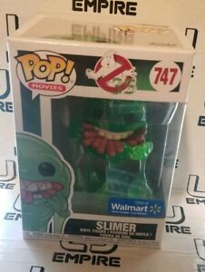Funko Pop Ghostbusters Translucent Slimer Eating Hot Dogs Walmart 🔥 IN HAND 🔥